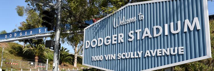Dodger Stadium Sign